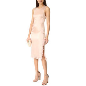 Elizabeth & James Adriene Sleeveless Ruffle Dress